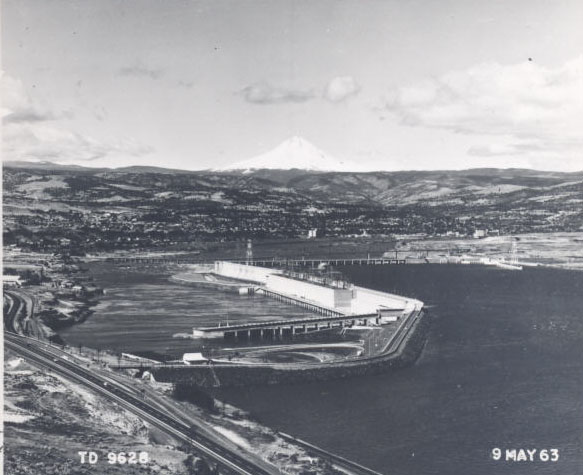 The Dalles Dam, 1963