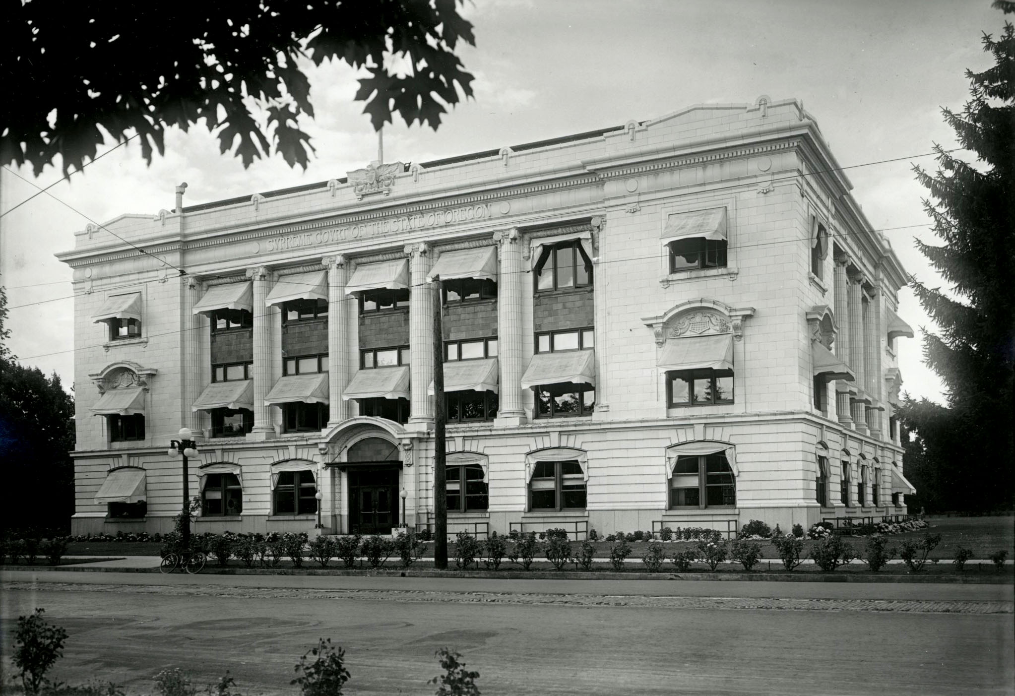 Supreme Court Building, Salem, 1930