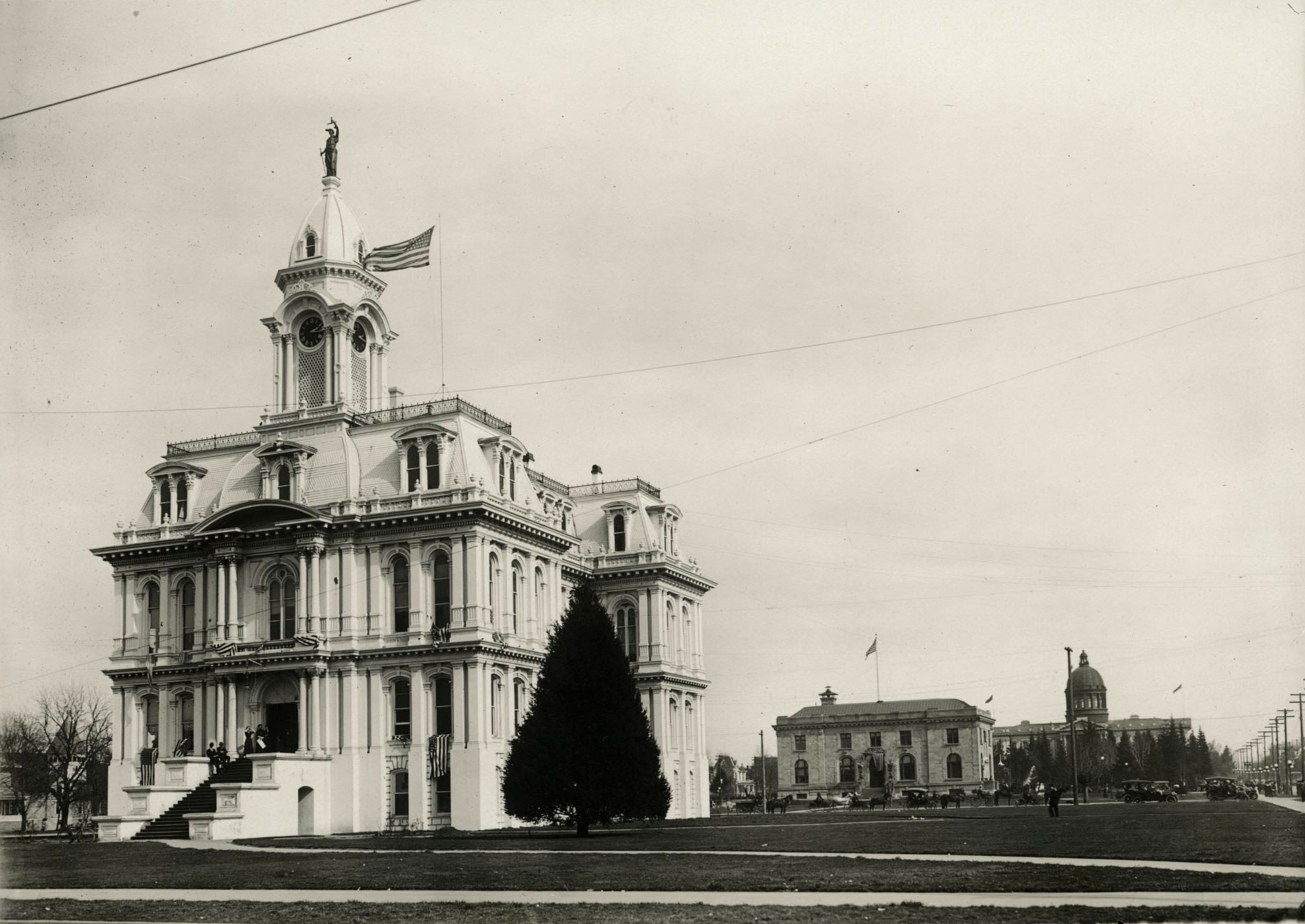 Marion County Courthouse, c. 1920