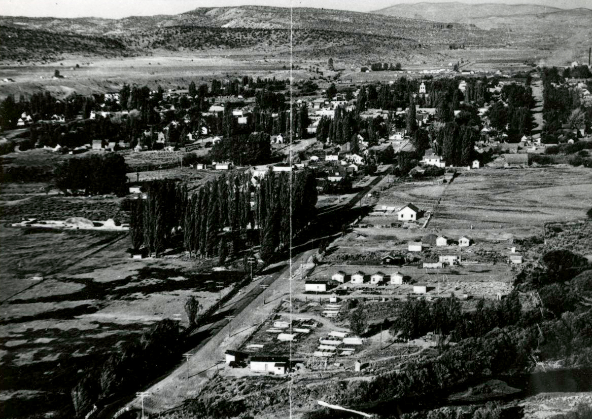Aerial of Prineville, July 1939