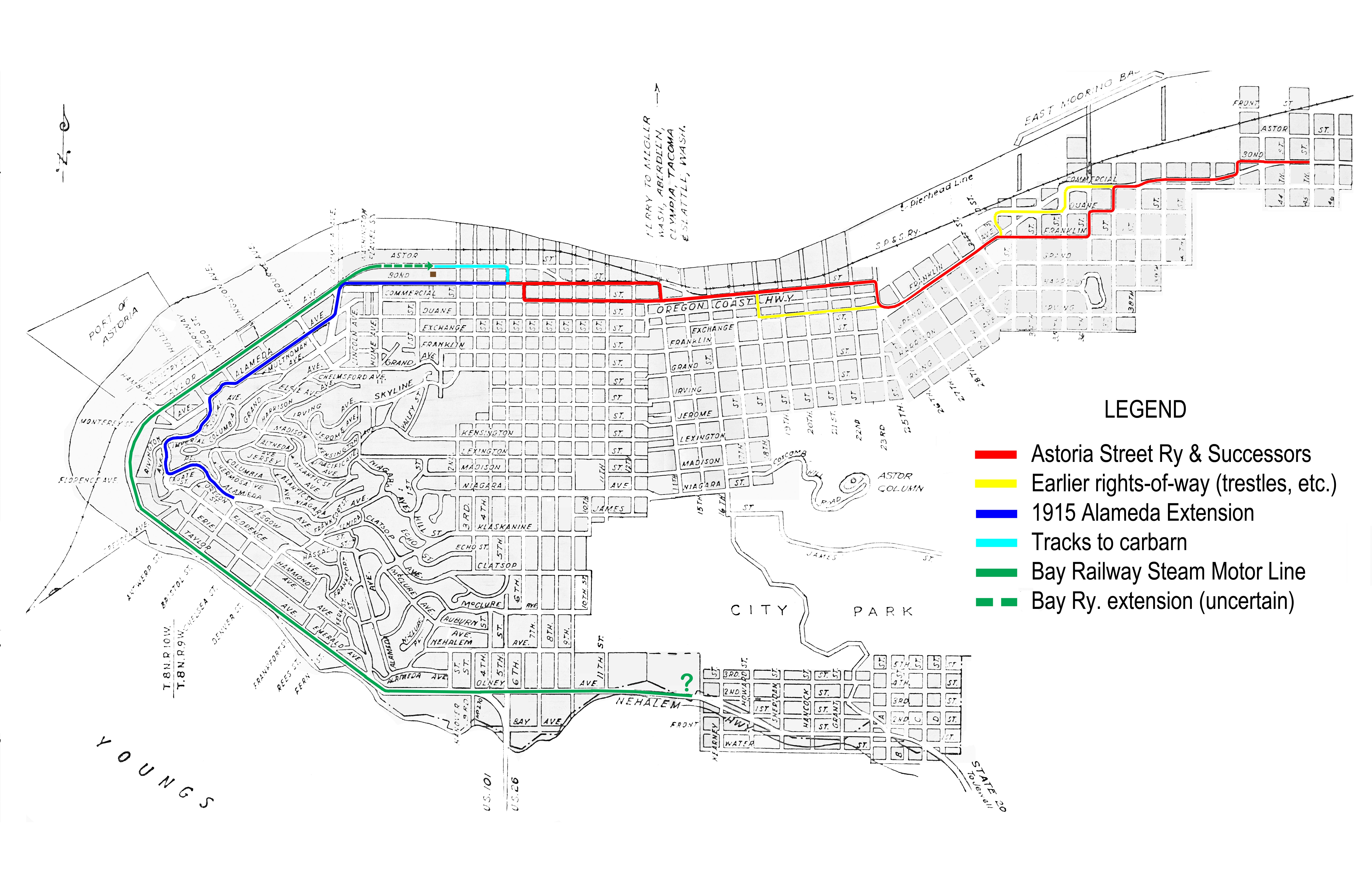 Astoria Streetcar System