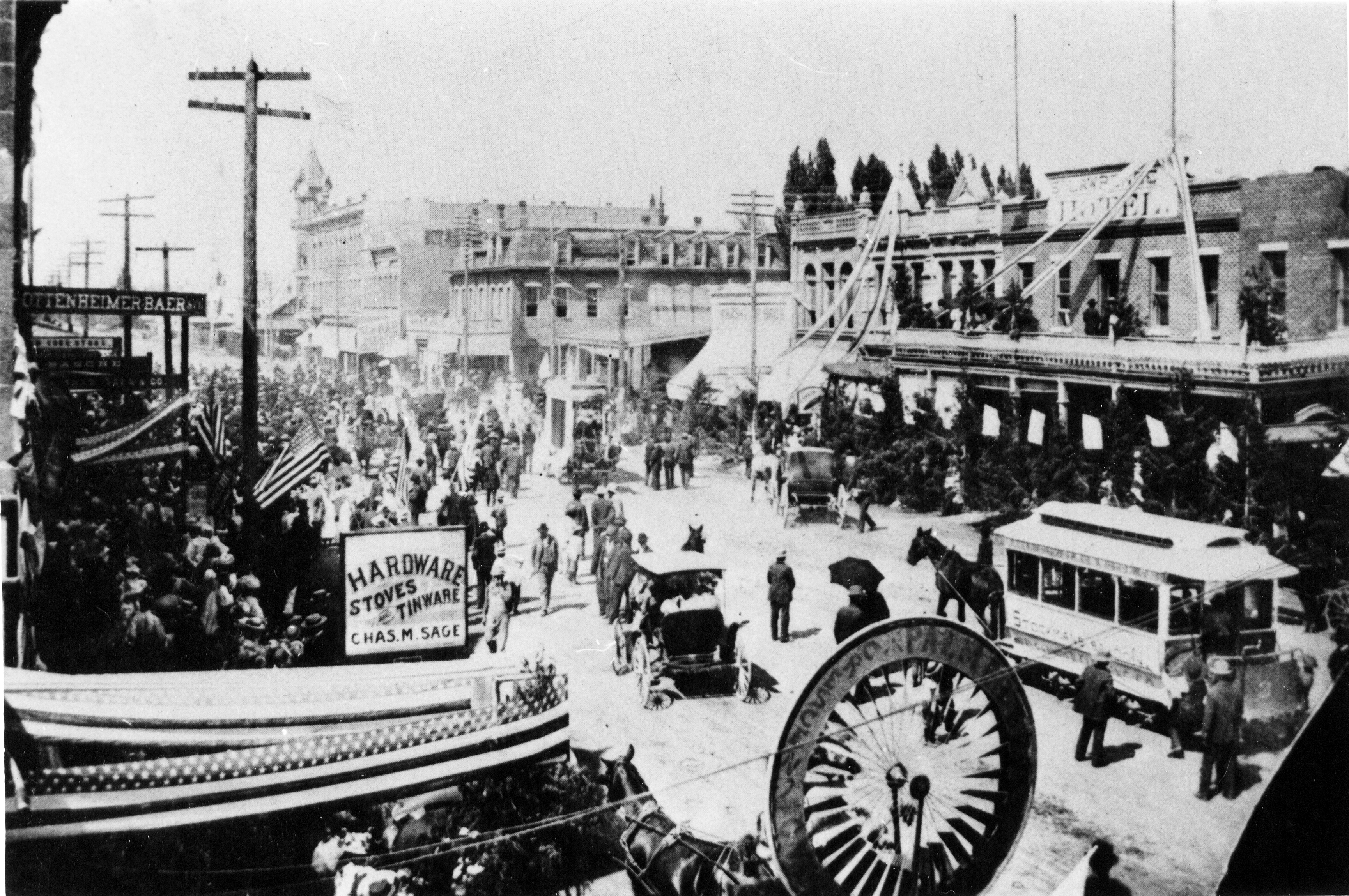 Baker city streetcar system for Heritage motors medford oregon