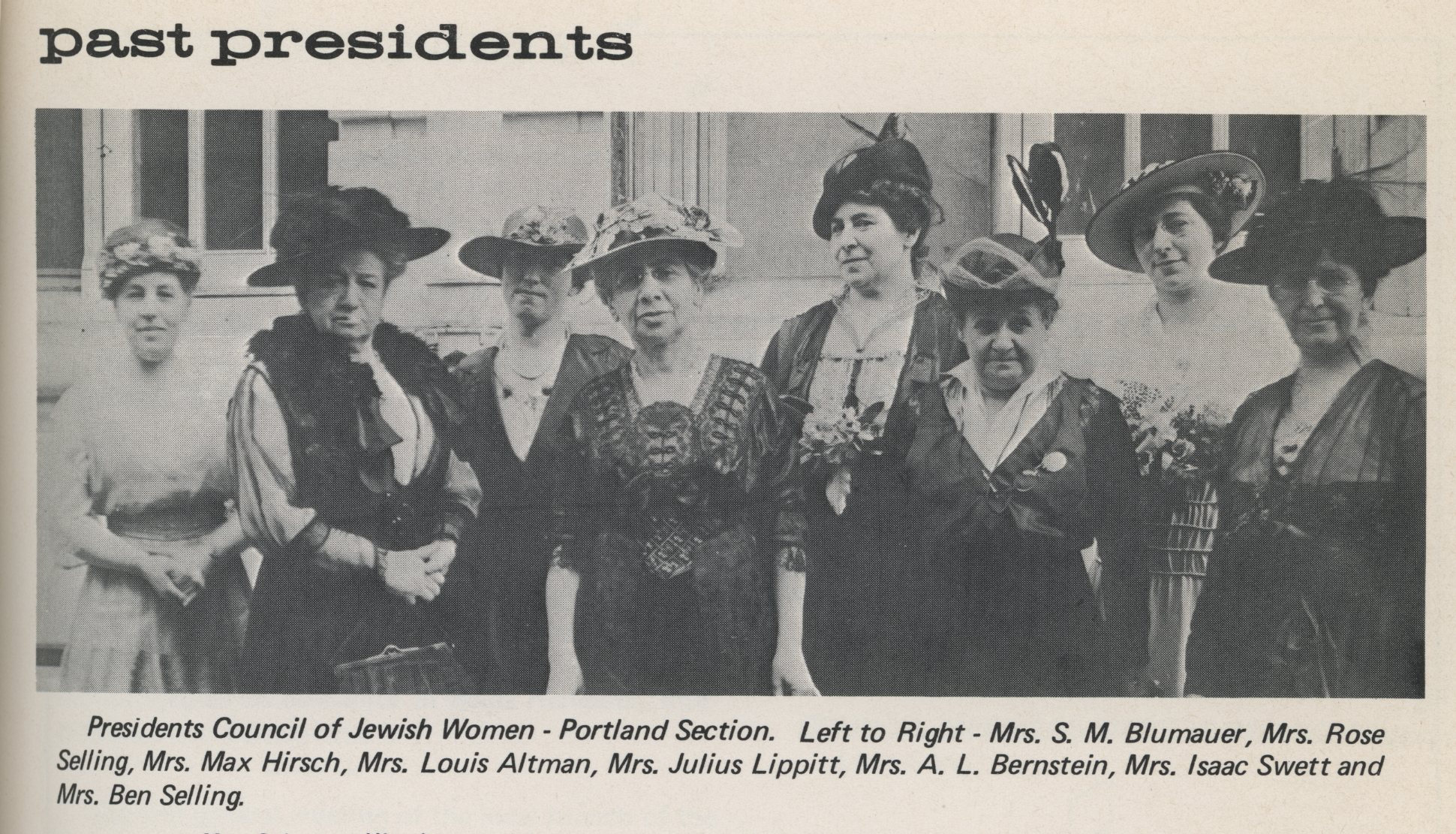 Council of Jewish Women, c.1925