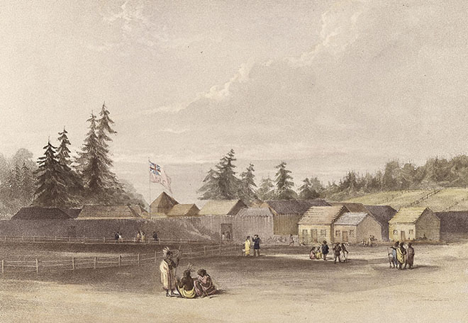 Fort Vancouver, 1848
