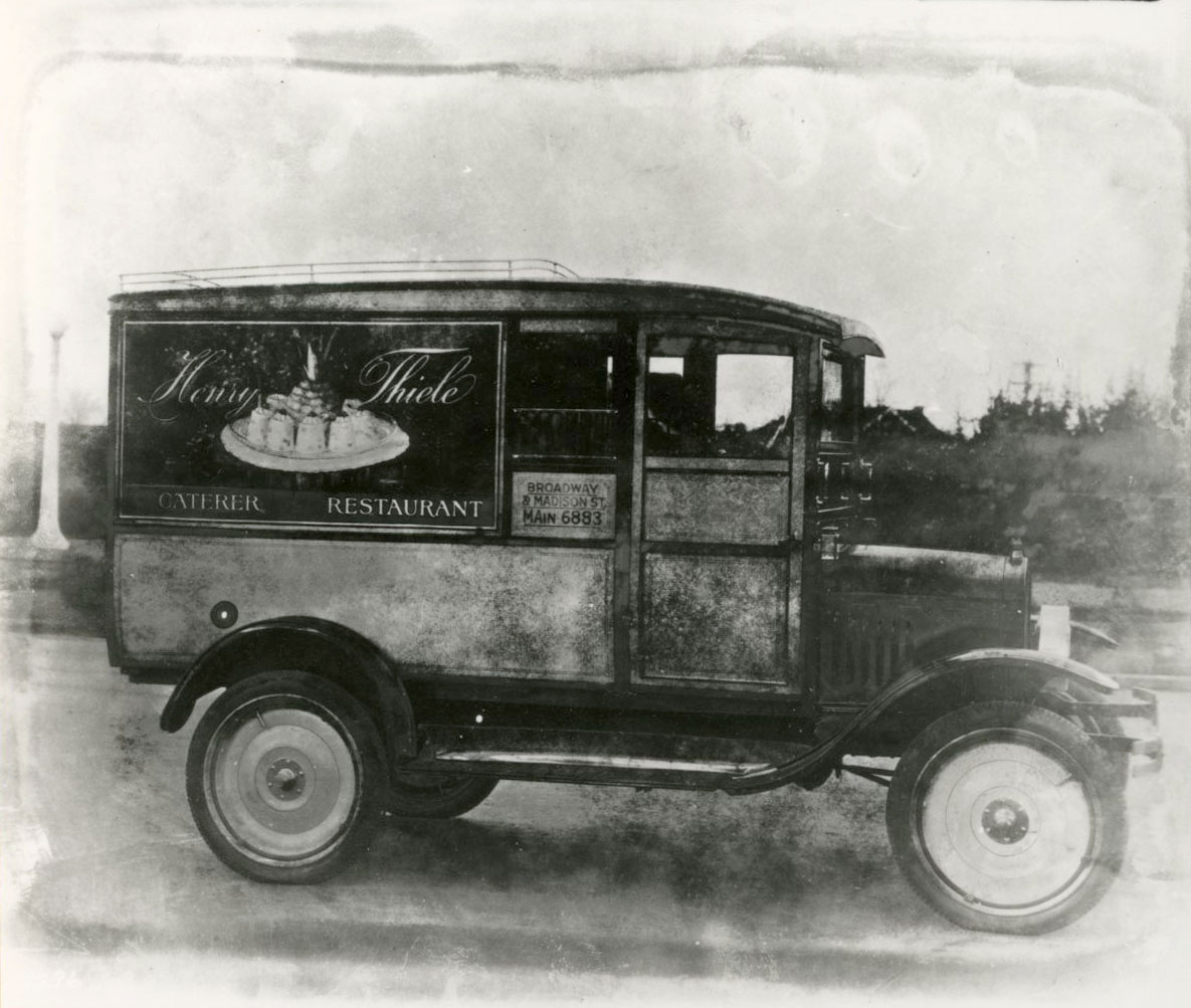 Henry Thiele's catering truck