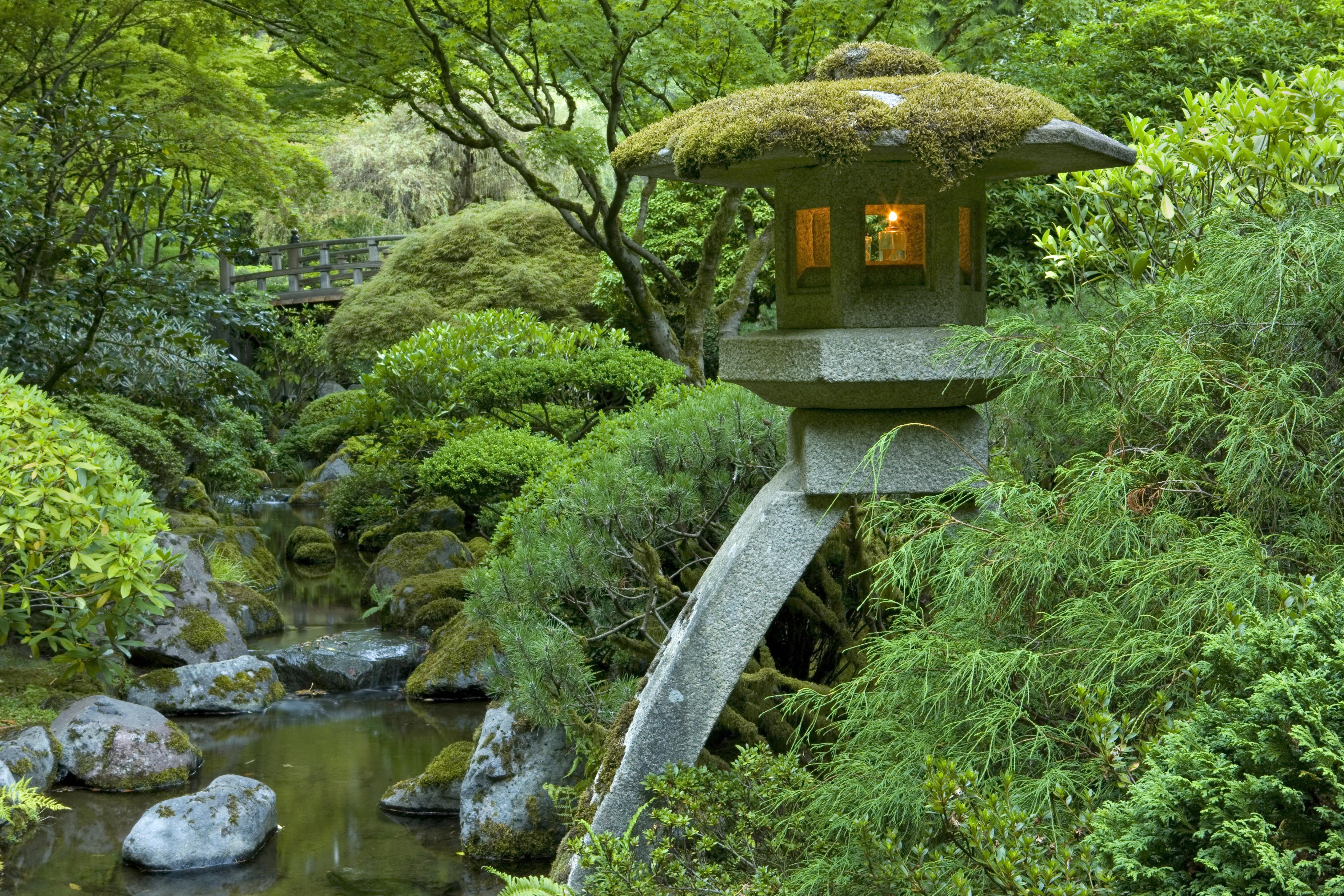 Japanese rock gardens history - Portland Japanese Garden