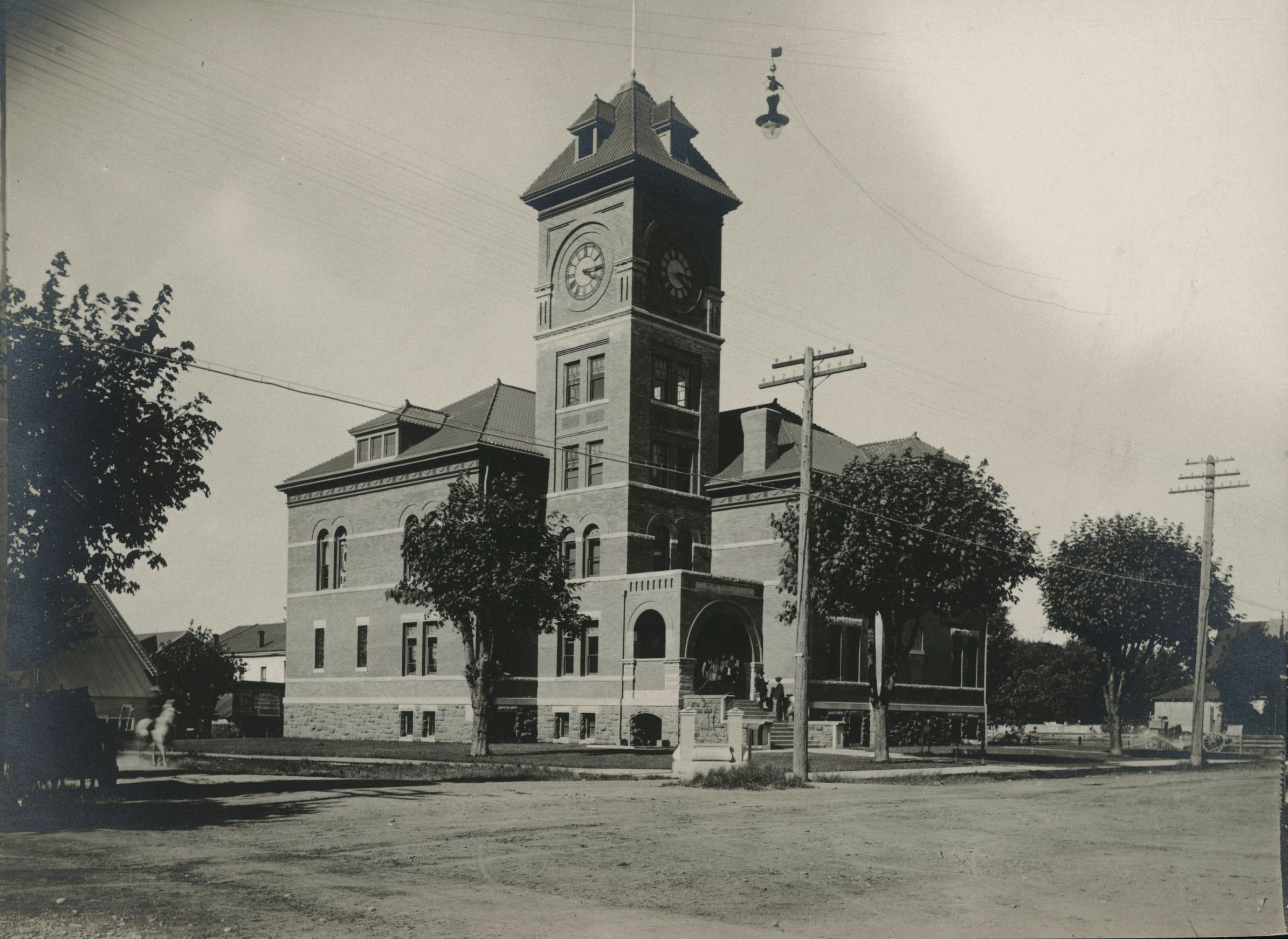 Lane County Courthouse, Eugene, 1898