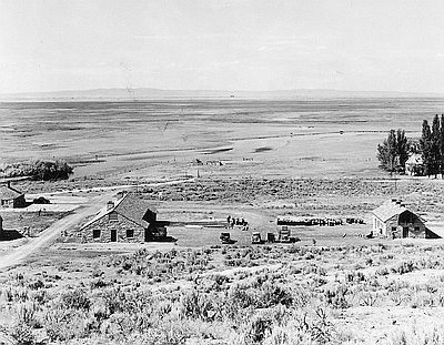 Malheur Bird Refuge, 1937