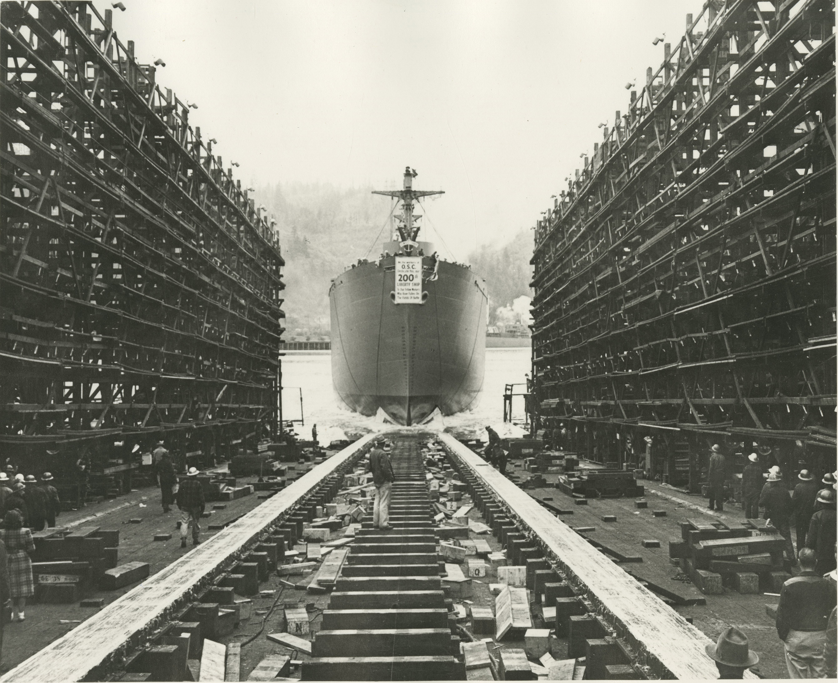 Oregon Shipbuilding Corp., 1943