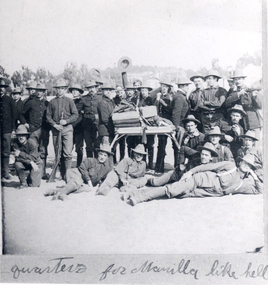 Oregon Volunteers, c. 1899