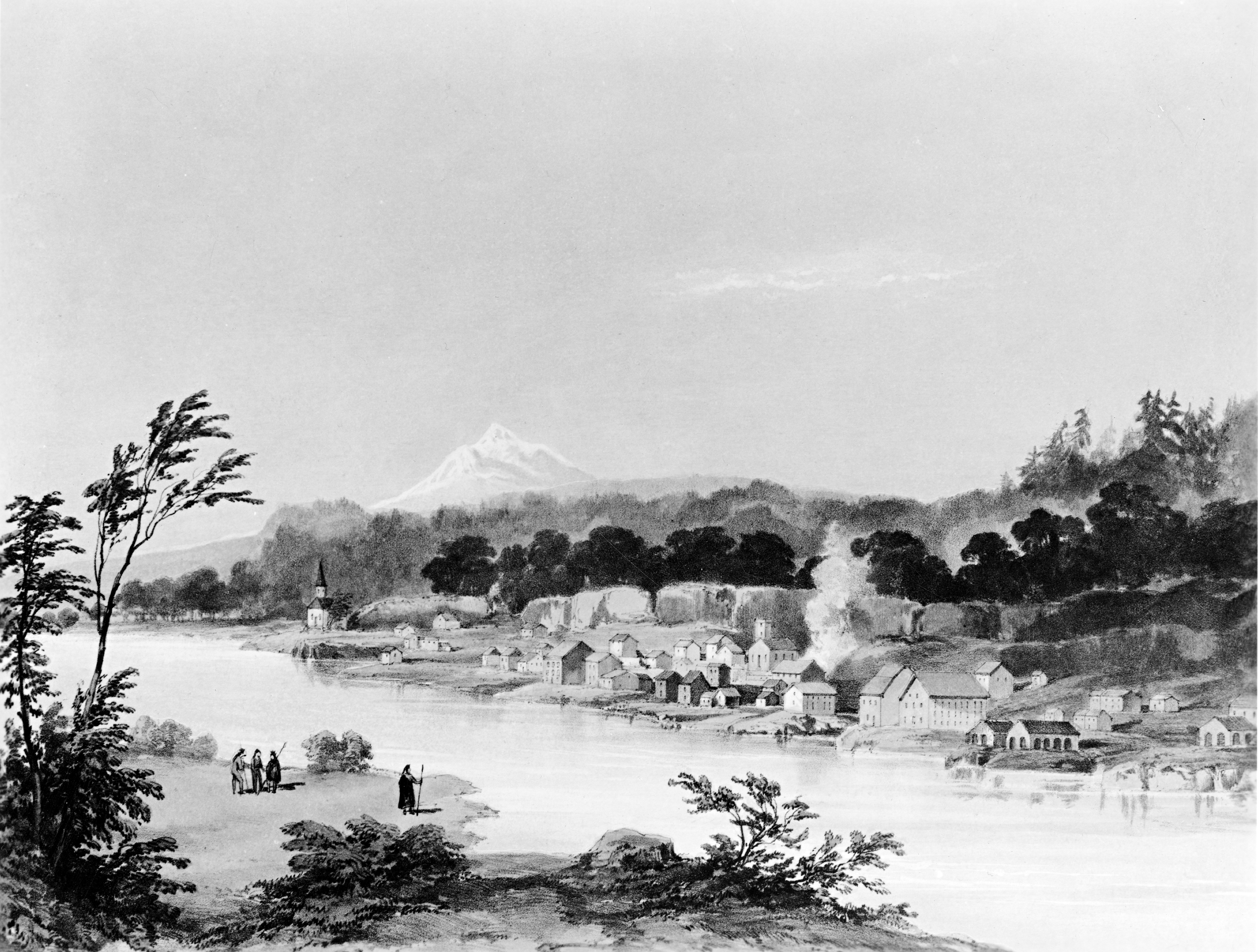 Oregon City, 1845, ba014134