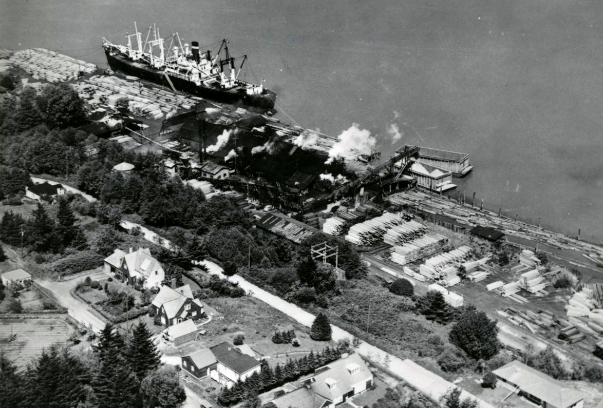 Coos Bay Logging Co., Old Town Mill, 1949