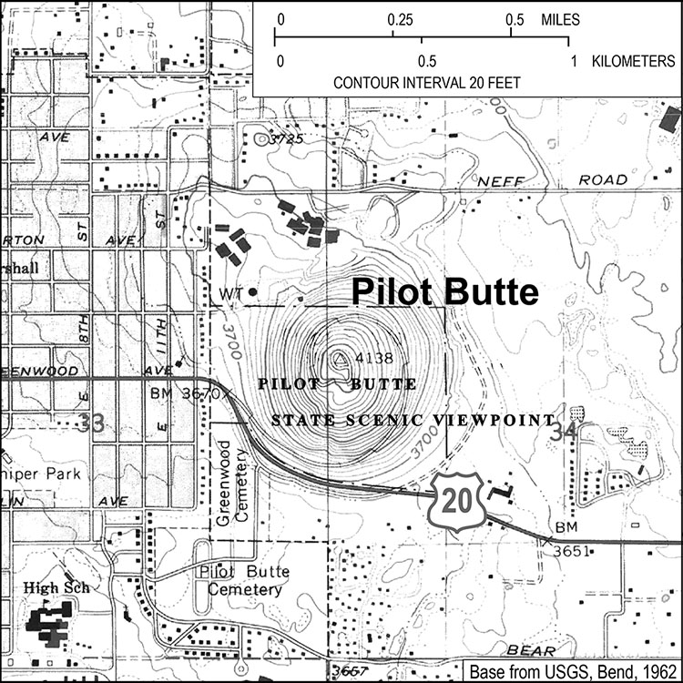 Pilot Butte State Scenic Viewpoint