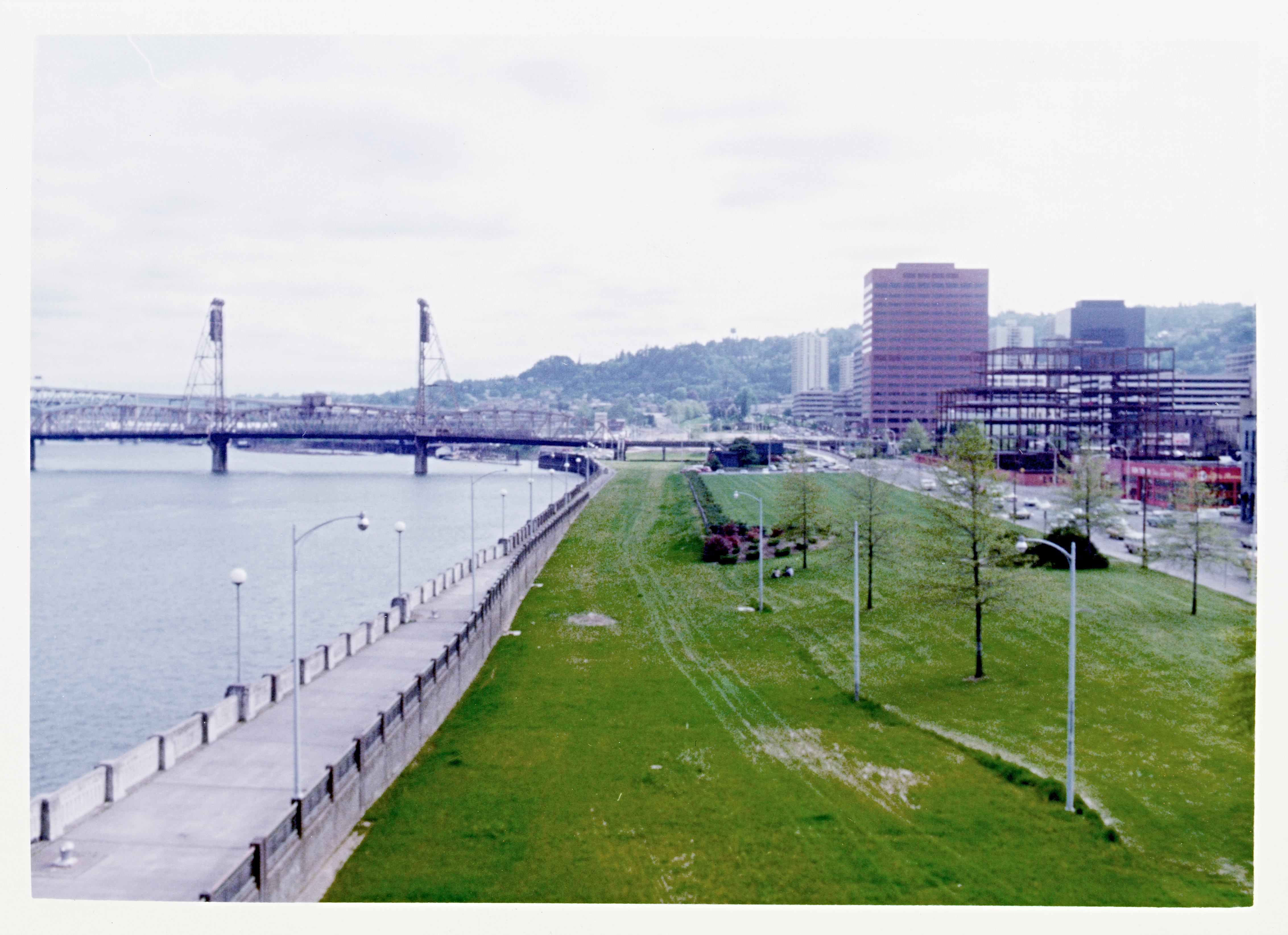 Waterfront Park in Portland in the 1970s
