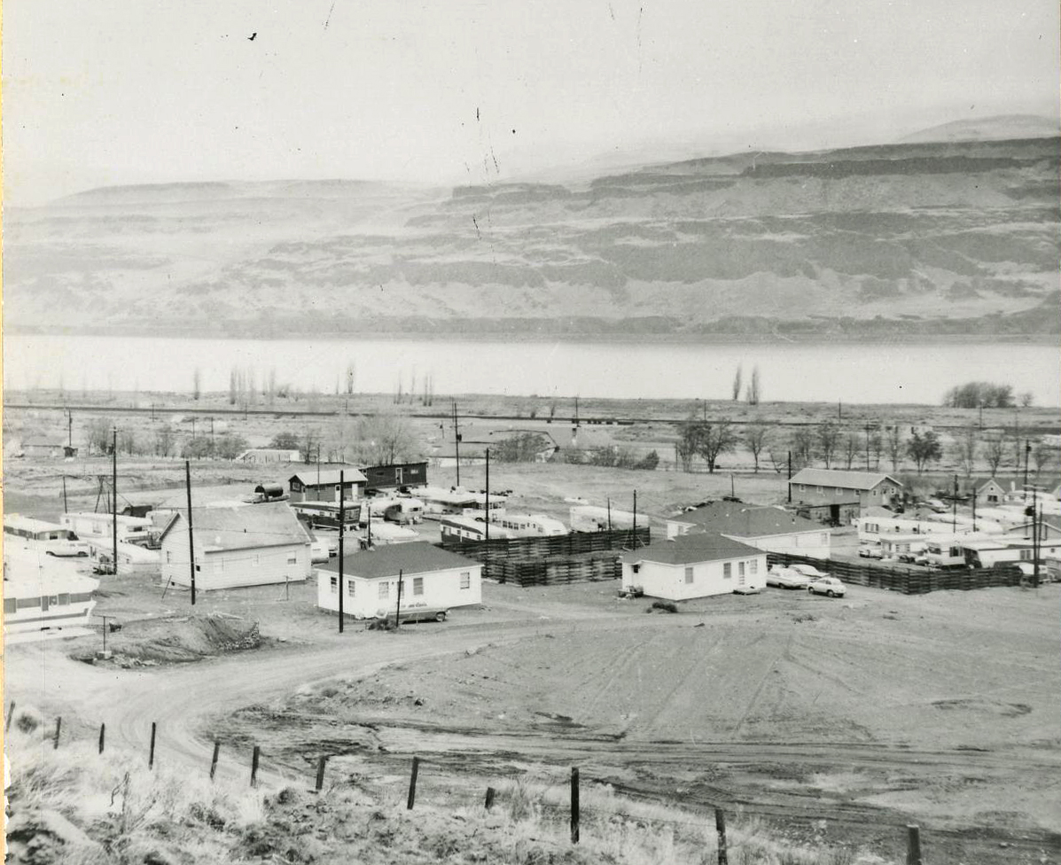 The town of Rufus, 1961