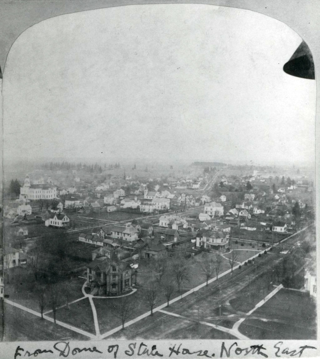 Birdseye of Salem from capitol dome, looking northeast, c. 1895