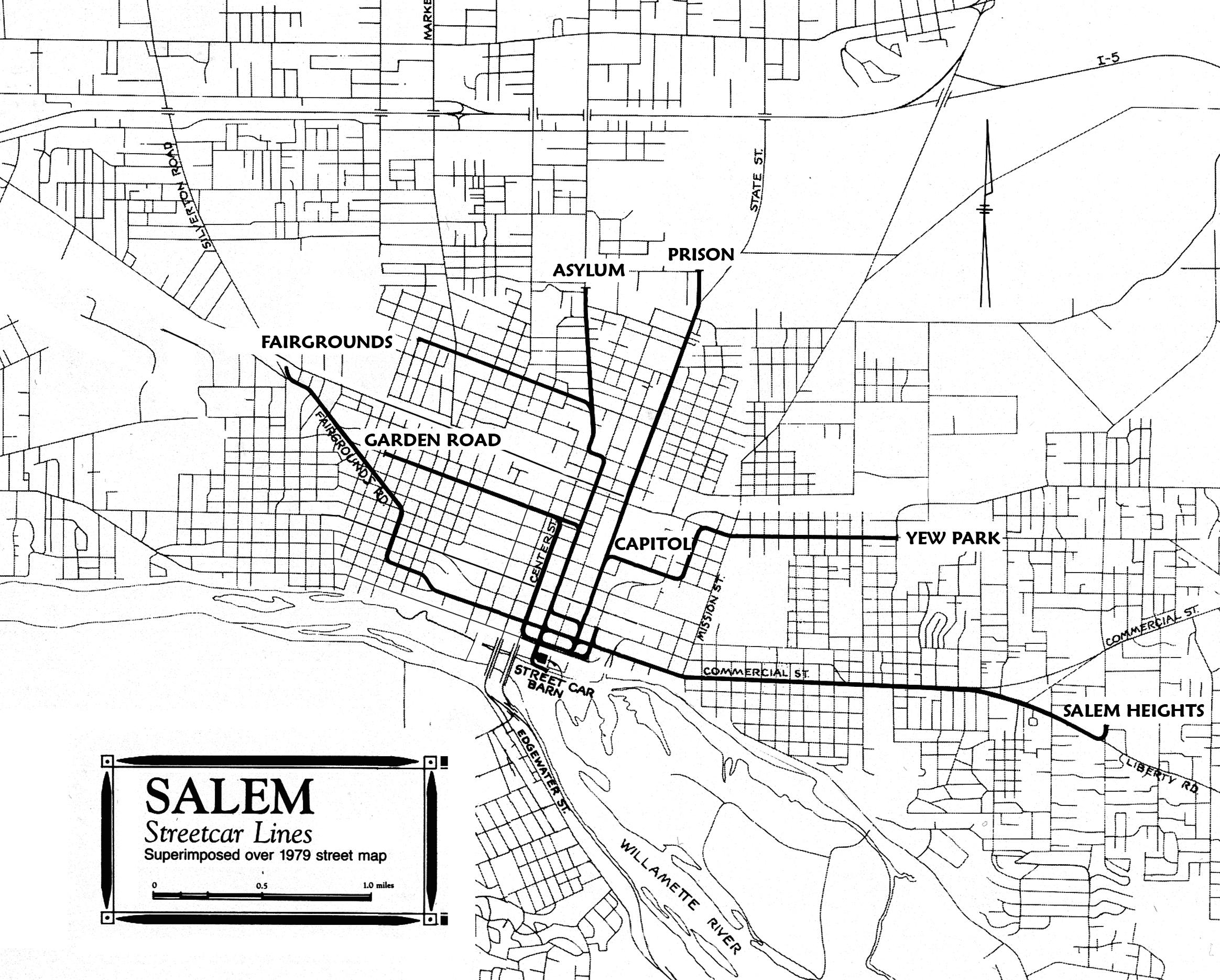 salem streetcar system