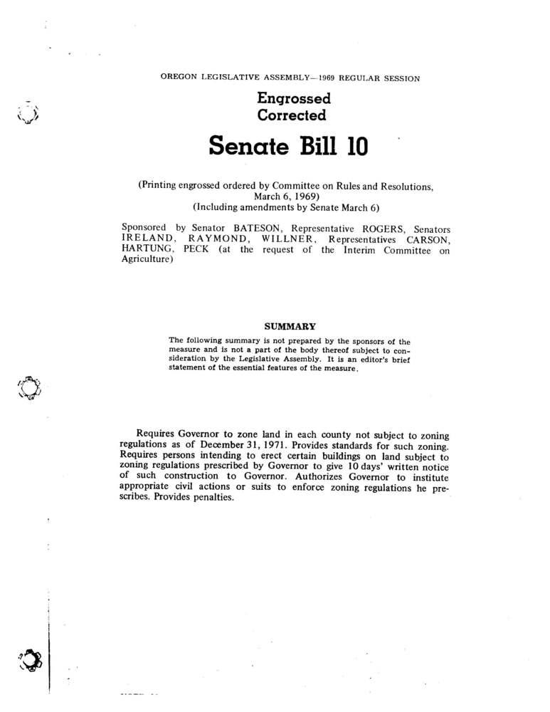Senate Bill 100
