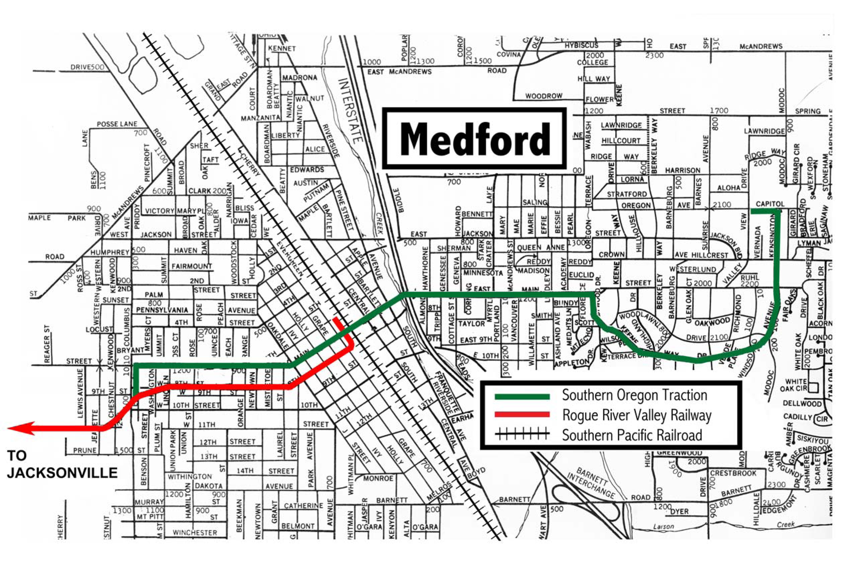 Medford Jacksonville Streetcar System