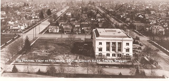 Oregon Supreme Court building under construction, c.1912-1913.