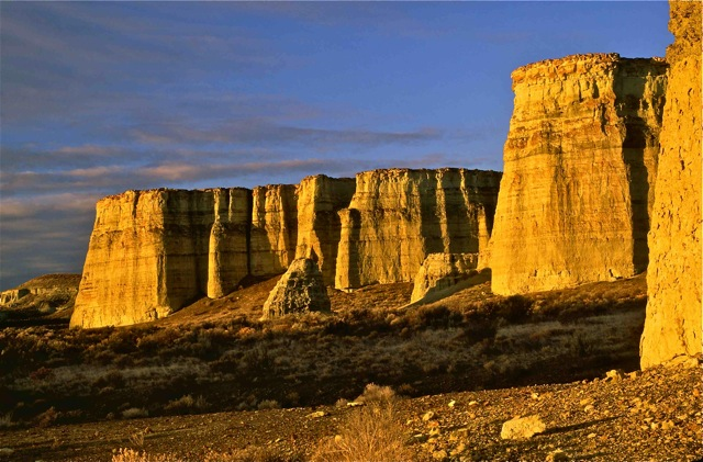The Pillars of Rome formations; Owyhee Canyonlands