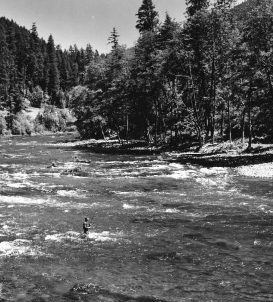Umpqua R., fishing in