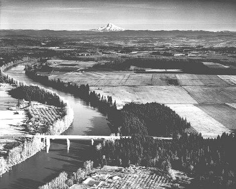 Wilsonville Bridge, 1960