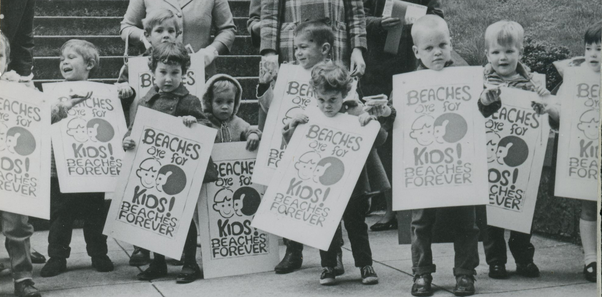 Beaches are for Kids event, 1968