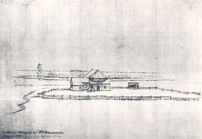 Fort Vancouver, 1851