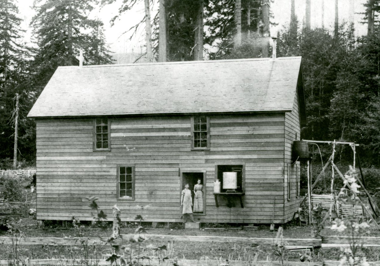 Beaver Cheese Factory, 1893, Tillamook County