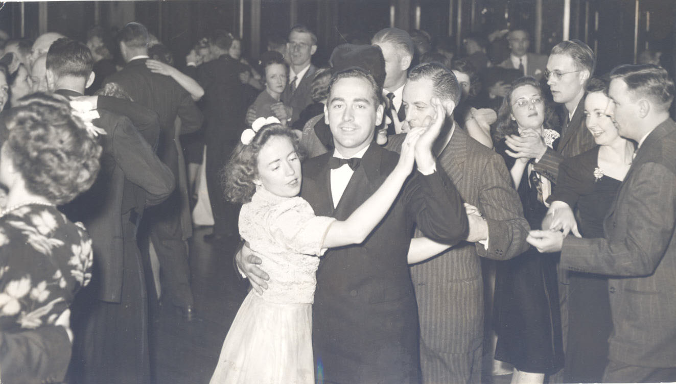 Dance after OSC (OU) football game, 1941