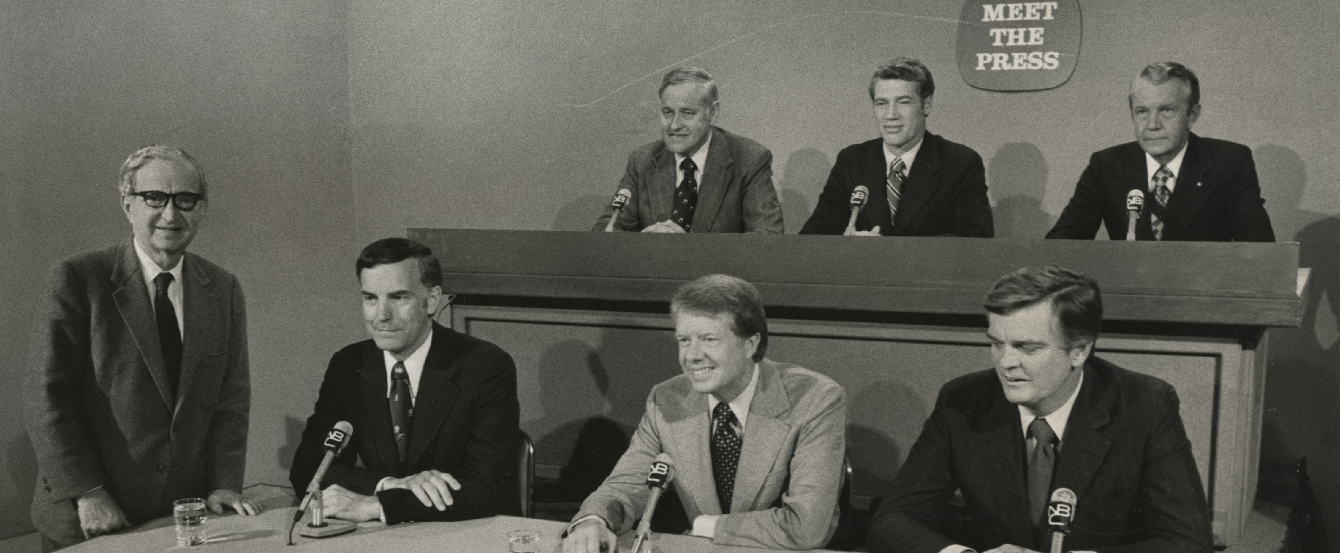 McCall on Meet the Press, 1974, to talk about Watergate