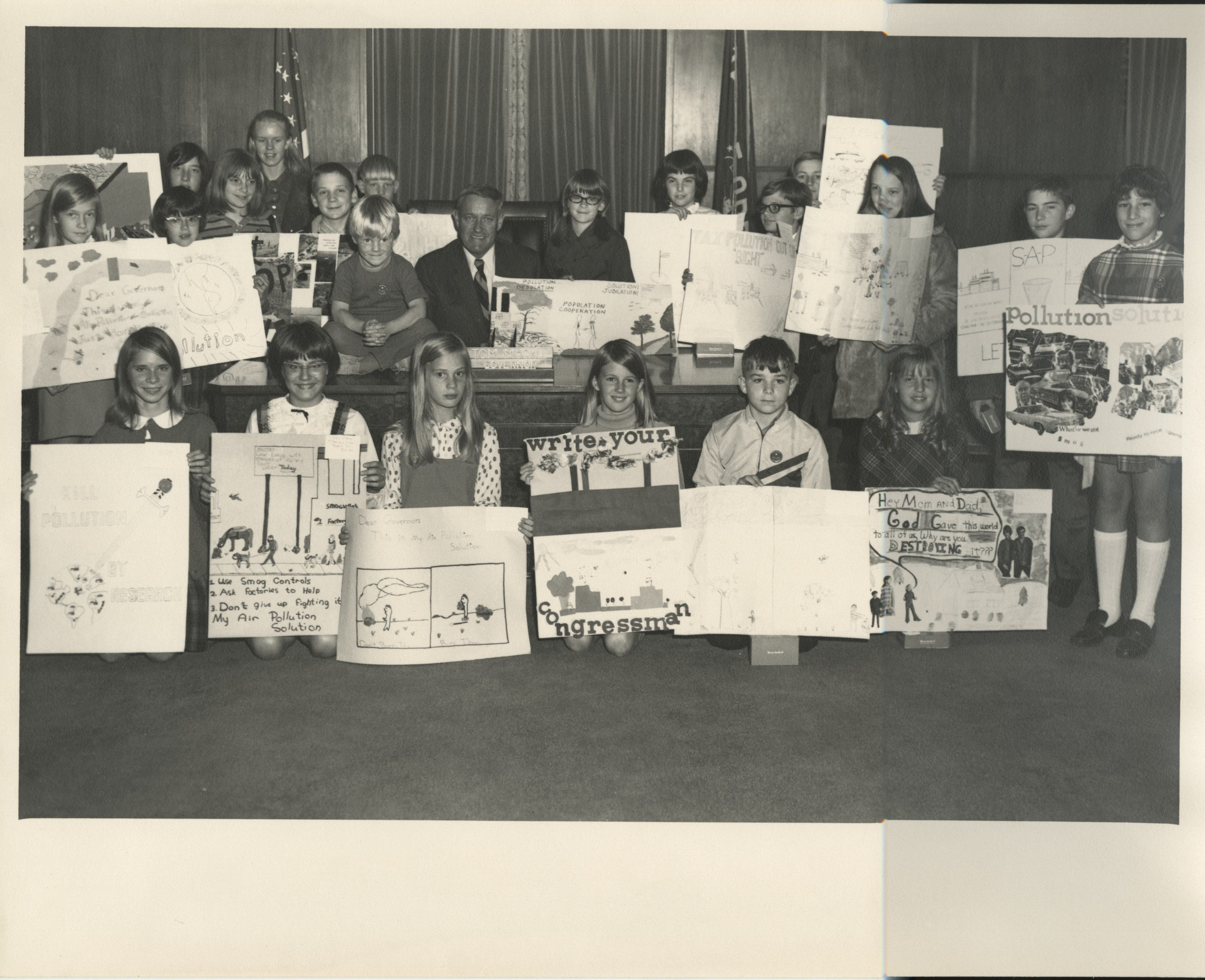 Willamette Valley Clean Air poster contest, 1969