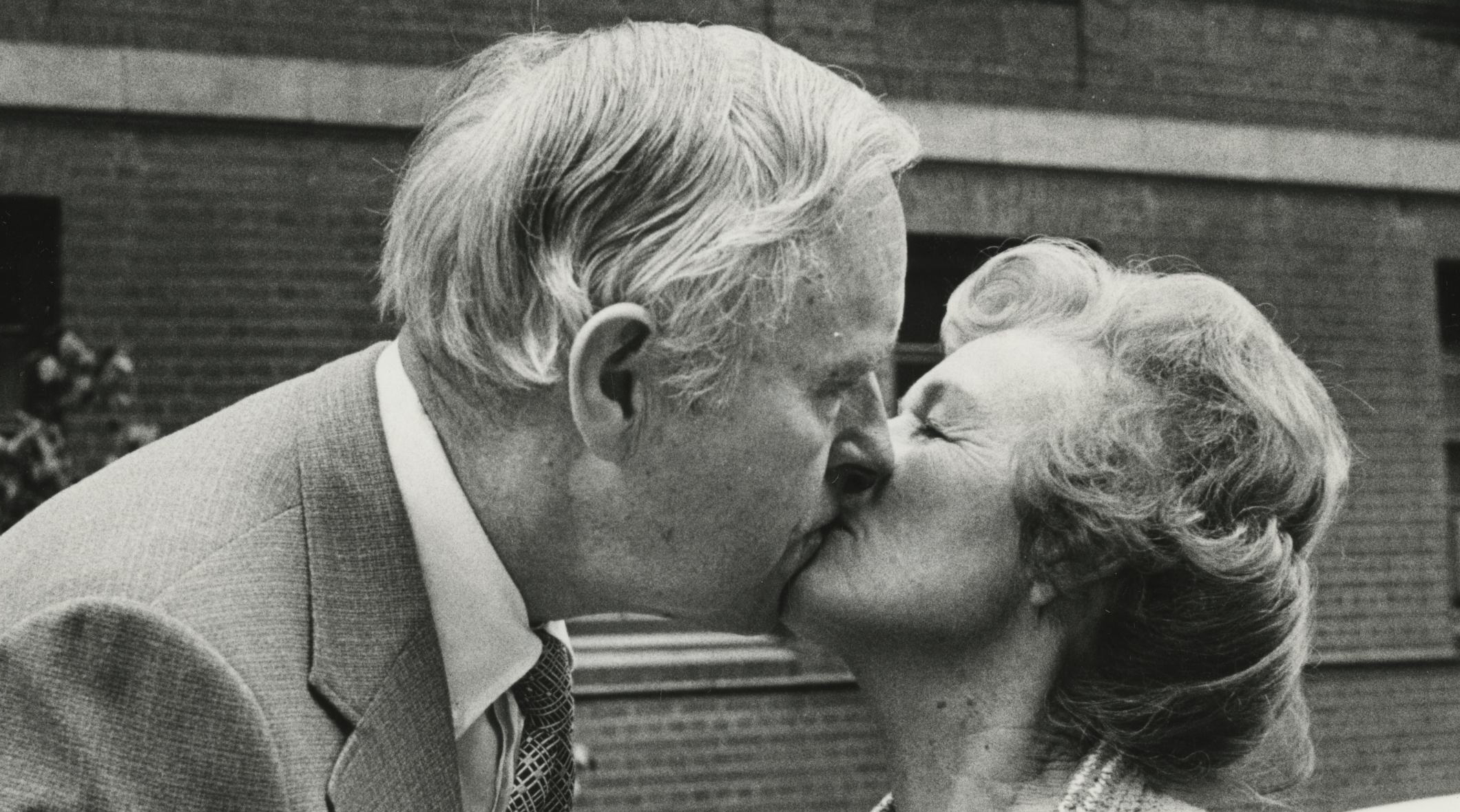 Tom and Audrey McCall, 1981, following Tom's hospital stay