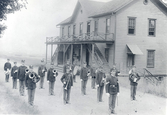 Fort Vancouver band, c.1898
