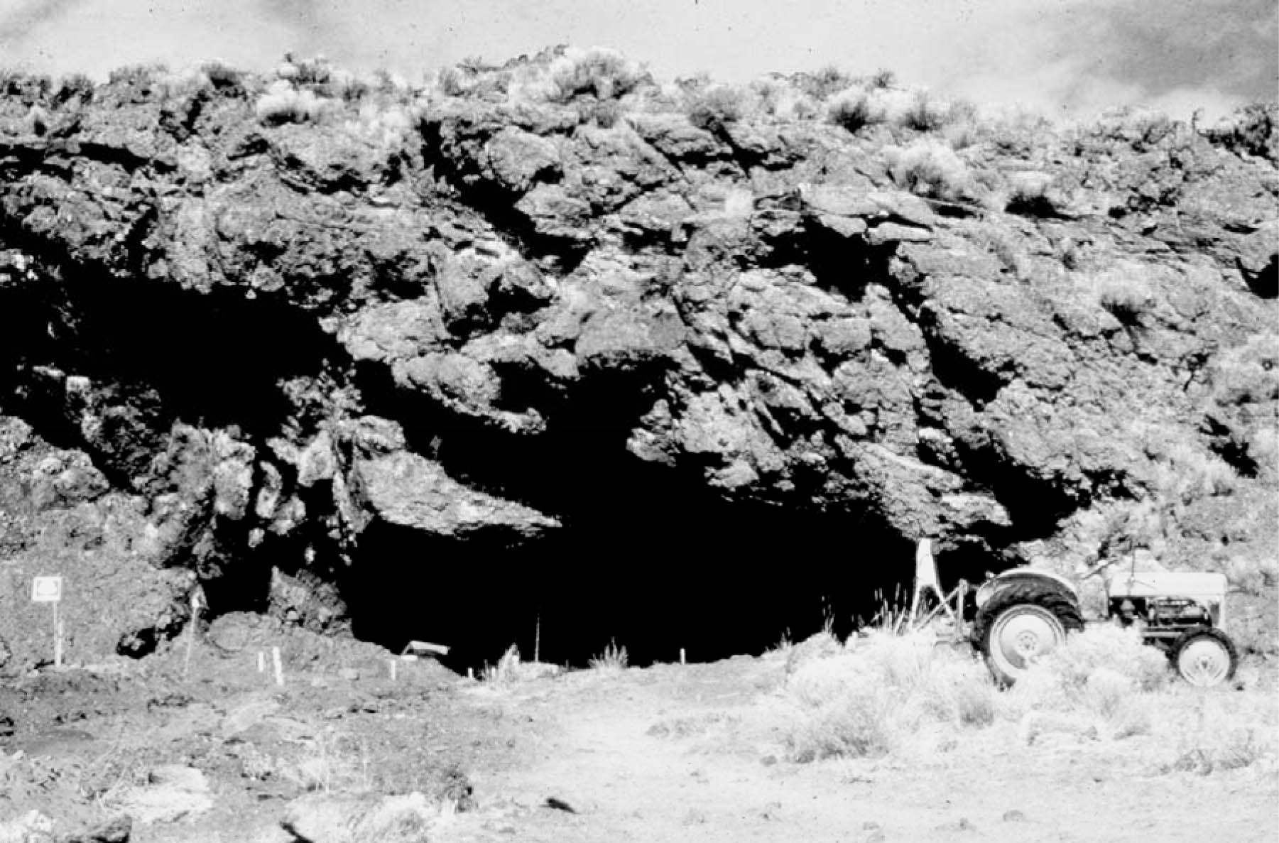 Fort Rock Cave, c. 1966