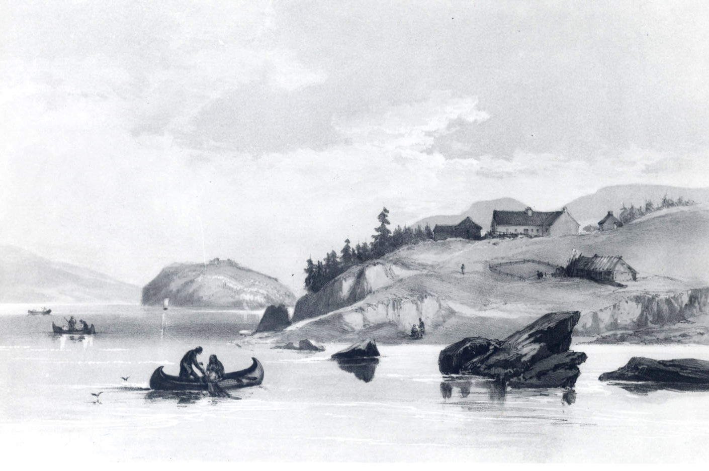 Fort George, 1845