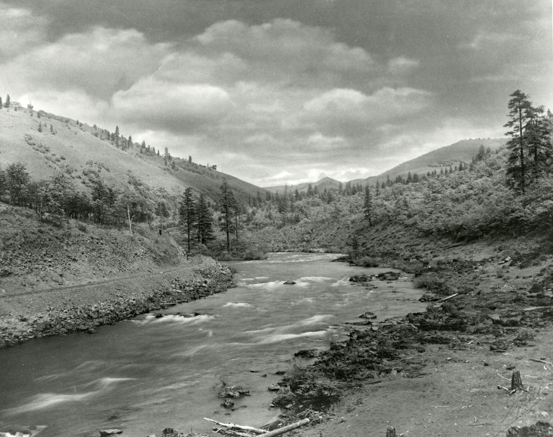 The Klickitat River in Washington, by Lily White