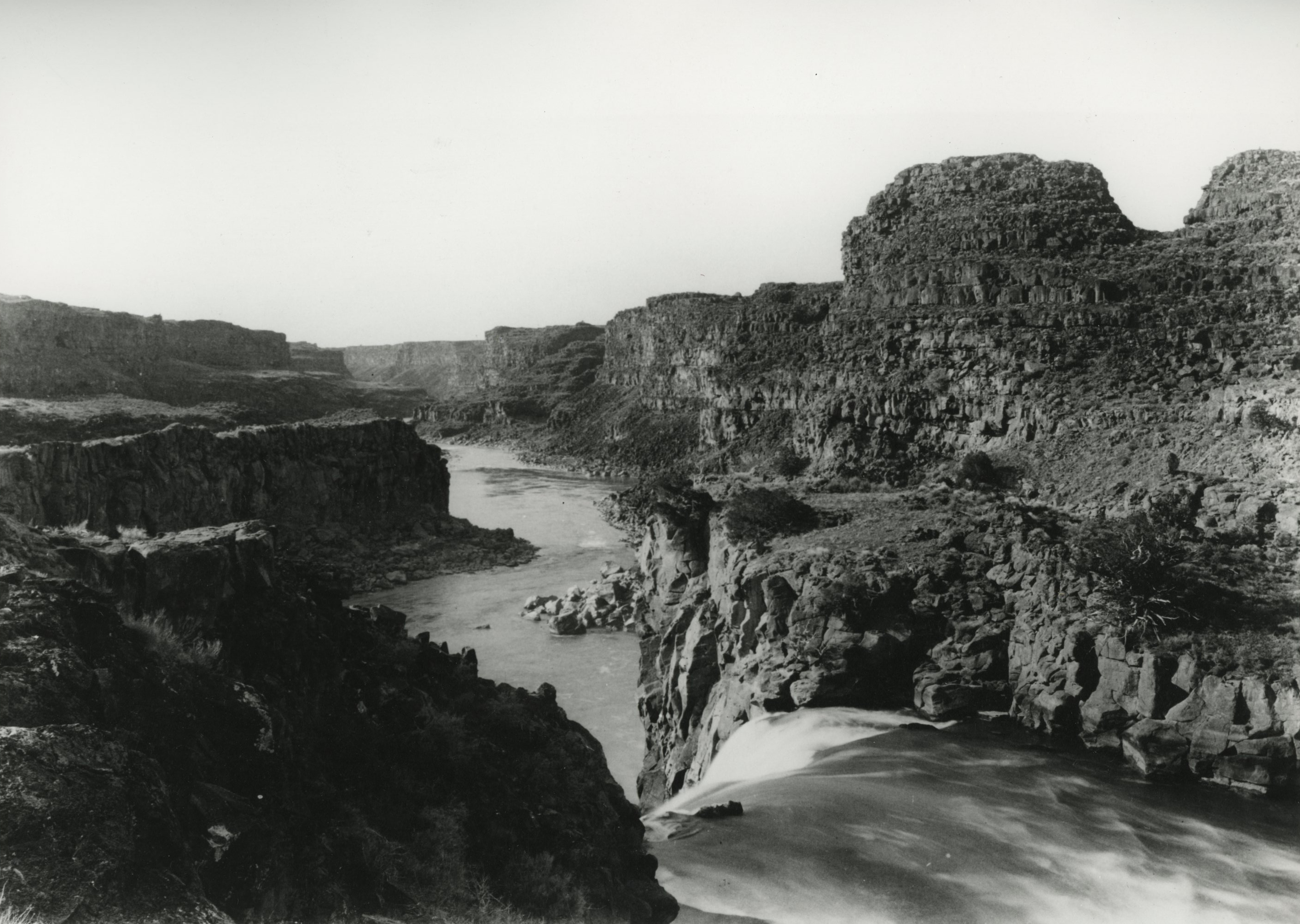 Looking down the Snake River