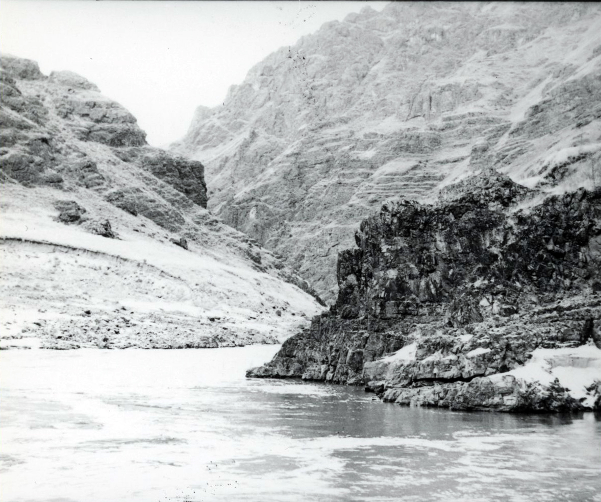 Mouth of the Salmon River at the Snake River, Idaho