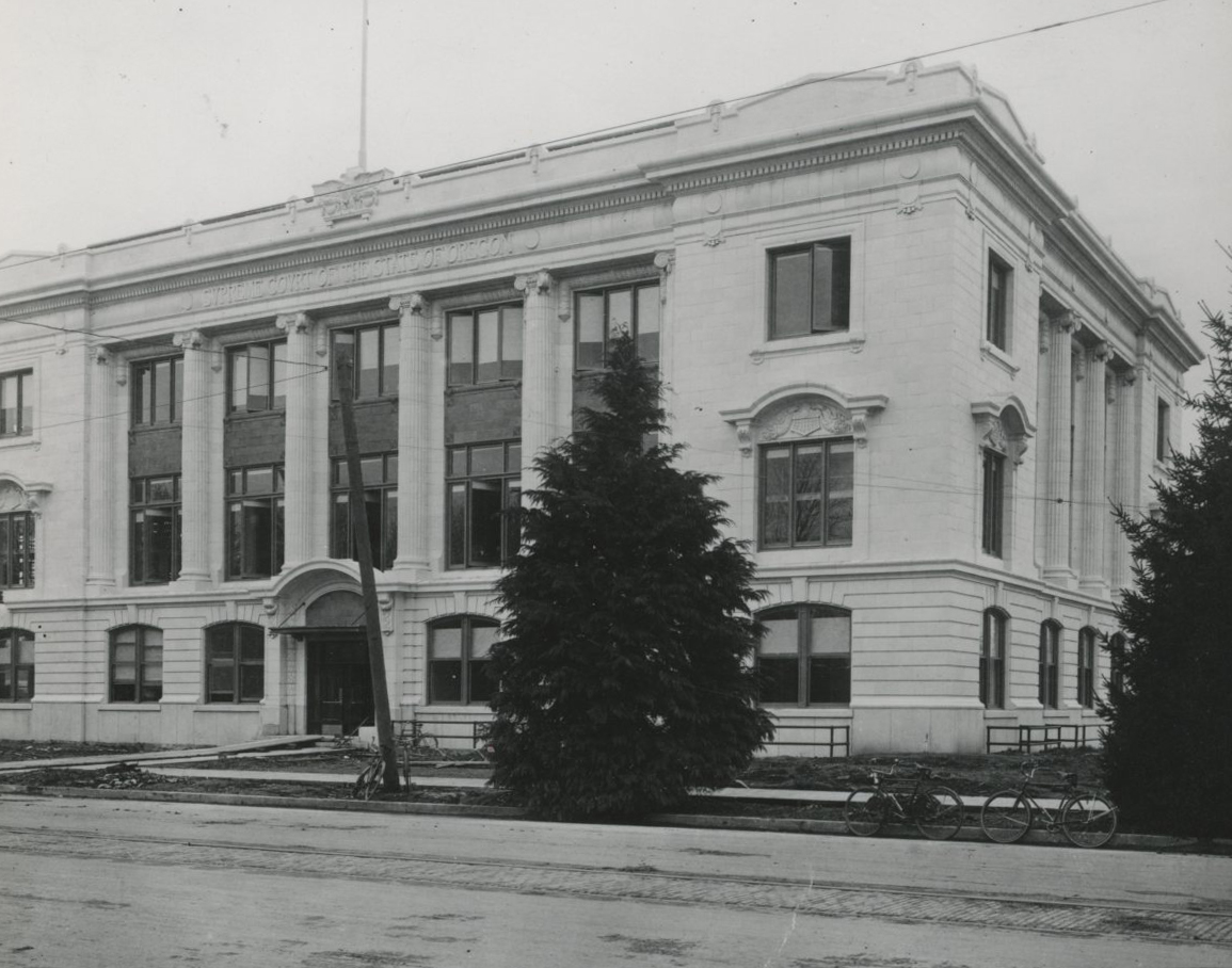 Oregon Supreme Court building, 1914