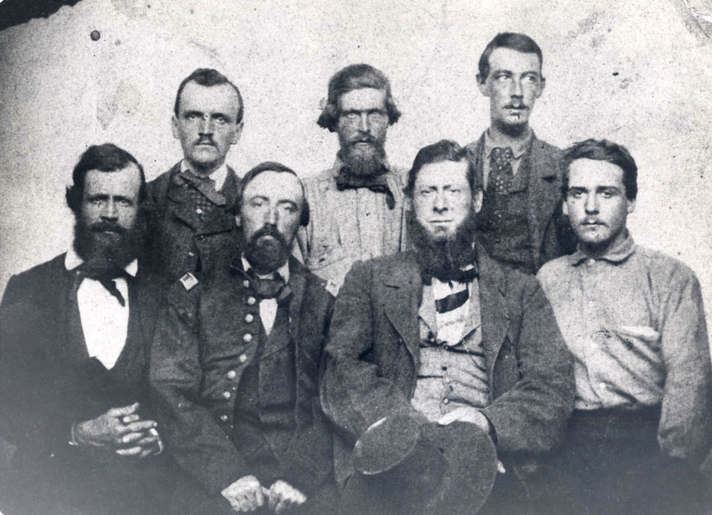 Officers of the Old Oregon Trail, 1861