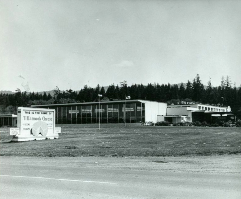 Offices and factory, Tillamook County Creamery Assoc., Hwy 101, 1963