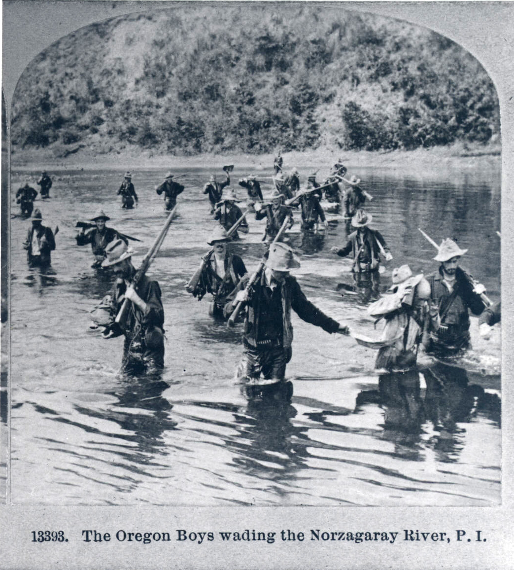 2nd Oregon Volunteers in the Philippines, 1899