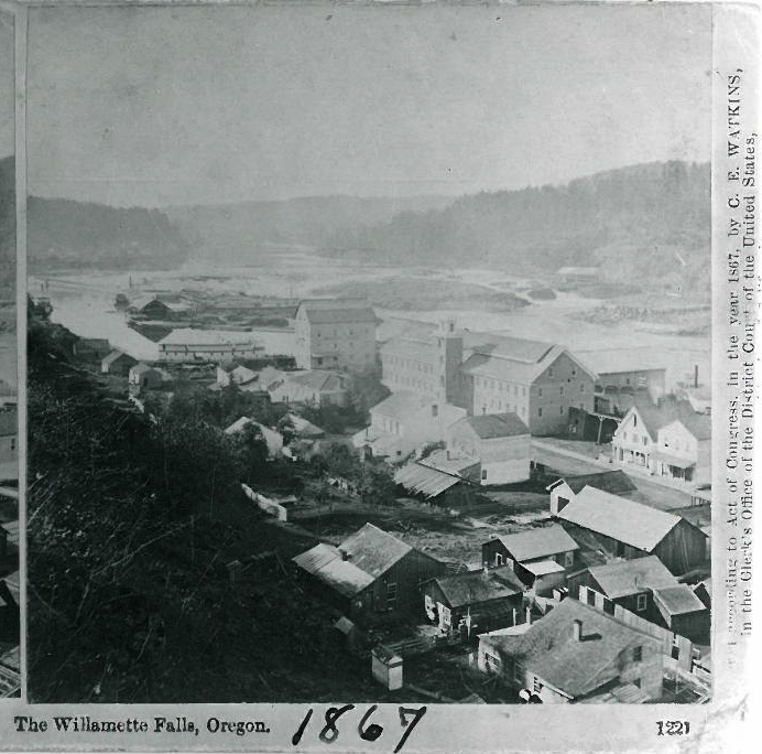 Oregon City, 1867