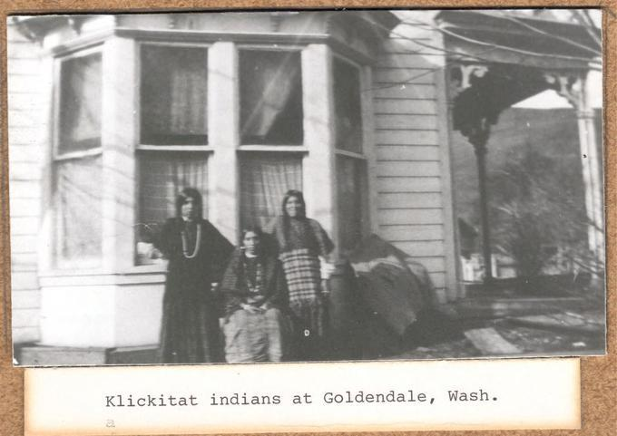 Klickitat Indians, Goldendale, Washington