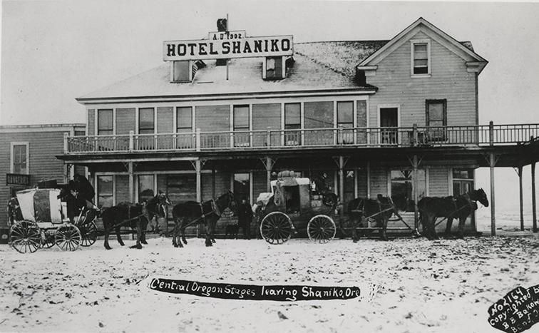 Wool Ers At Shaniko C 1910