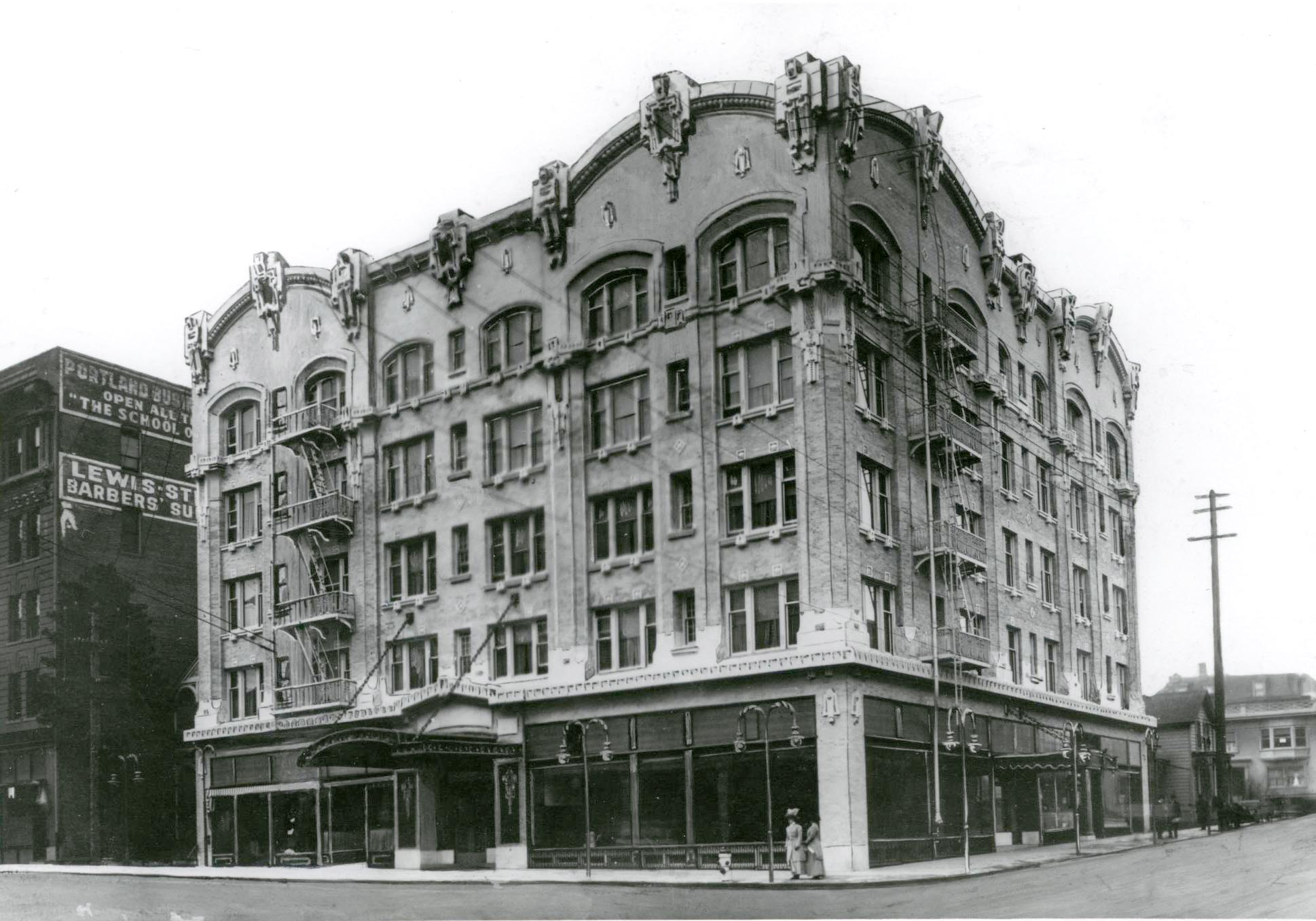 Seward Hotel (now the Sentinel), Portland, Oregon