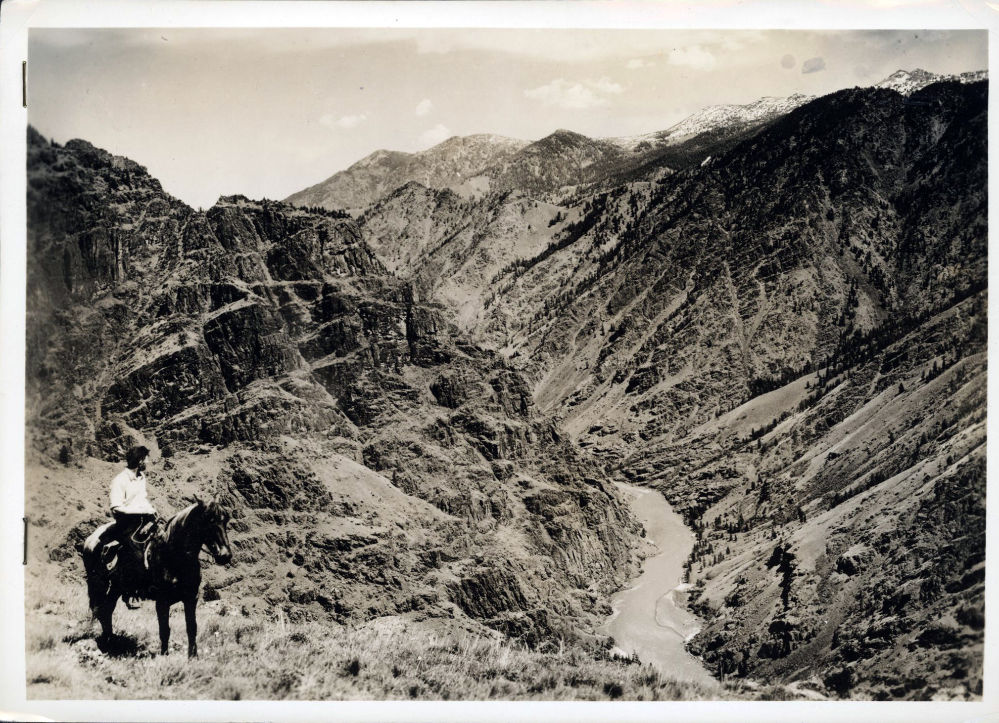 Snake River Canyon, 1938