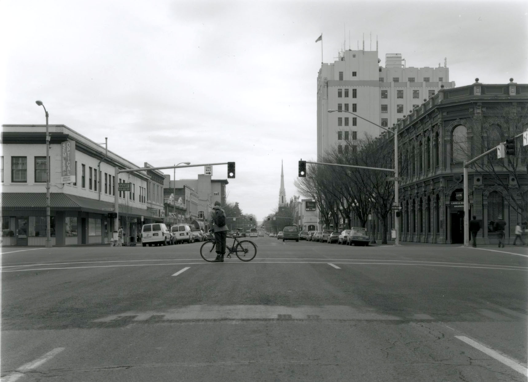 State Street, looking east from Commercial, 1994